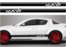 Mazda RX8 side racing stripes 002 stickers decals graphics vinyl