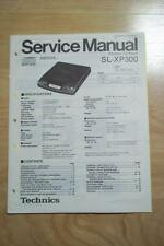 Technics Service Manual for the SL-XP300 CD Player