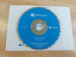 Windows 10 Repair & Recovery Disk Home  64 Bit DVD Recover Reinstall