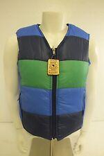 Vintage Lexan Reversible Ski Vest w/Original Aspen Lift Ticket Women's Size 12
