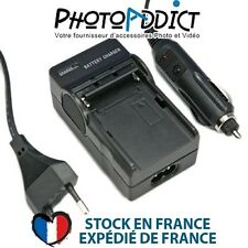 Chargeur pour batterie FUJI NP-80 - 110 / 220V et 12V