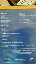 Master Service and Parts CD with 2004 Chrysler Crossfire Preview
