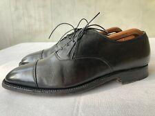 Alden Men's Cap Toe Black Calfskin Oxford Dress Shoes Sz 10 C/E