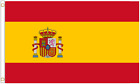 Spain State Polyester Flag - Choice of Sizes