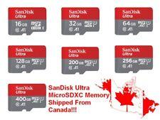 SanDisk Micro SD MicroSD Memory Card 16GB 32GB 64GB 128GB 200GB 256GB 400GB