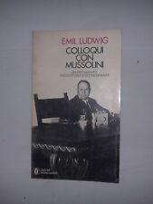 """Libro """"Colloqui con Mussolini"""" - Emil Ludwig"""