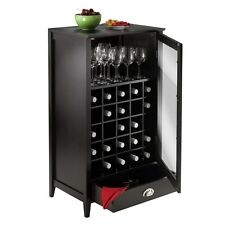 Winsome Bordeaux Wine Cabinet 25-Bottle Slot Modular 92455 Wine Cabinet NEW