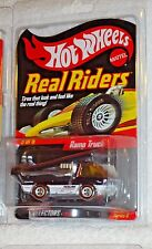 Hot Wheels Real Riders Series 6 - #5 of 6 Ramp Truck (Sold Out)