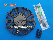 "Brand New 7"" 12V Slim Radiator Cooling Thermo Fan & Mounting kit MGA/MGB GT"