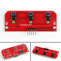 1Pcs 3 Way Infrared IR Line Tracking Sensor Module For Raspberry Pi Arduino T2.