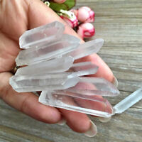 Wholesale 100 Bulk Small Points Raw Quartz Crystal Healing Reiki Mineral Wand