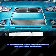 Fits 2011-2012 Mitsubishi Outlander Sport Billet Grille Grill Inserts