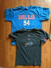 Nfl Buffalo Bills Youth T-Shirt Lot of 2 Mario Williams Football Ny Kids Sz S/M
