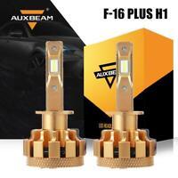 AUXBEAM F-16 Plus H1 LED Headlight Bulb Kit 70W 7000LM High Low Beam 6000K White