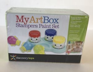 My Art Box Discovery toys Stampers Paint Set for children