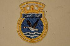 Canadian Navy RCN HMCS Patrol Vessel Goose Bay Crest Patch