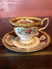 Royal Albert Lady Hamilton Cup And Saucer