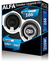 Alfa Romeo 166 Porta Posteriore Altoparlanti per Auto Altoparlante Audio Fli KIT 210W