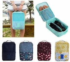 Pattern Travel Shoes Cosmetic Toiletry Gym Pouch Bag Case Organizer V2(Penguin)