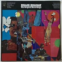 JAZZ Billie Holiday - The Original Recordings LP vinyl record VG++ Columbia 1973