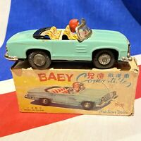 """Gspkw """"Baby CONVERTIBLE FRICTION DRIVE"""" Old Red gschina 13 CM,"""