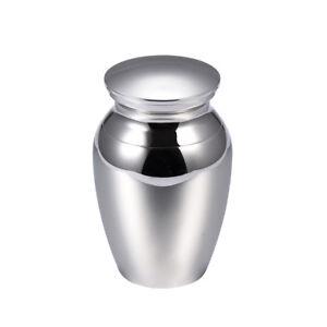 """NEW! Silver """"Alton"""" Keepsake Token Cremation Urn - K201"""