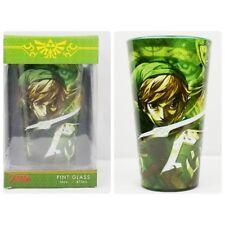 New listing Legend of Zelda Pint Glass in Box Just Funky 16 oz Green Princess Nintendo