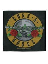 Guns N Roses OFFICIAL Woven Patch Bullet LOGO intrecciate ricamate U.S. sleaze metal