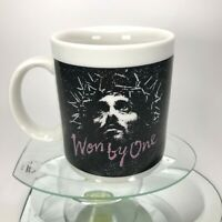 Vintage Won By One Mug Jesus Crucifixion Easter 1991 Living Epistles Tea Cup C22