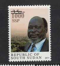 South Sudan 2017 Nh Scott 27 1000 Ssp Surcharge on Dr Garang - Free Usa Shipping
