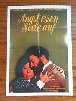 Filmplakatkarte / moviepostercard  Angst essen Seele auf  Brigitta Mira