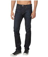 Jack Spade Mens Slim Straight Fit Selvage Denim Jeans in 1 Year Wash $265 NEW 32