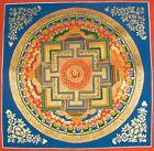 """Round Mandala(19.6"""" x 19.6"""") - Handmade Thangka Thanka Painting from Nepal"""