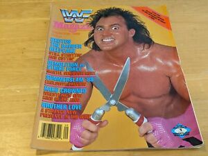 BRUTUS THE BARBER BEEFCAKE WWF MAGAZINE Wrestling Sep 1988 Issue Demolition/Haku