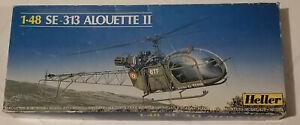 HELLER - Alouette II 1/48