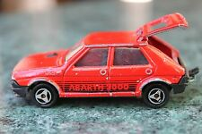 Vintage MAJORETTE Fiat Ritmo #239 Abarth 2000 Diecast Car Made in France 1:53