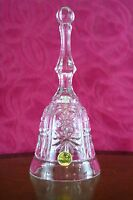 RCR Crystal Glass bell with clanger (made in italy) 24%
