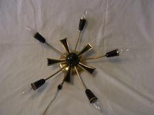 50er Rockabilly 5 Arm Spider Deckenlampe Lampe Sputnik Stilnovo Style #<Eins