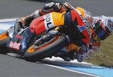 Casey Stoner mano firmado Repsol Honda 12x8 Foto MotoGP Autógrafo 7.