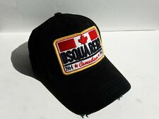 Dsquared2 Black Baseball Cap  Rare