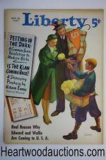 Liberty Nov 20, 1937 Michael Dolas cover