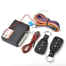 Universal Car Central Door Lock Locking Keyless Entry Security System w/2 Remote