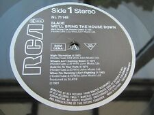 Slade WE'LL BRING THE HOUSE DOWN EU LP 2nd Press ONE PLAY EVER MINT AUDIO HEAR