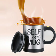 Stainless Steel Mixer Electric Coffee Cup Self Stirring Mug Automatic Coffee Mug