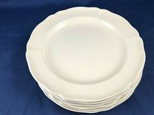 """Set of 6 Bread & Butter Plates 6.5"""" QUEENS PLAIN Wedgwood"""