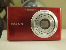 Sony Cyber-shot DSC-W330 14.1MP Digital Camera - Red
