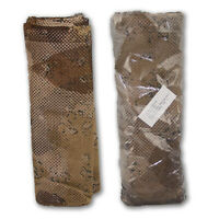 Lot of 2 NEW Army Desert Coyote Camo Netting 5 x 8 Ghillie Mesh Cover Deer Blind