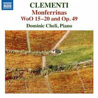 Dominic Cheli - Clementi Monferrinas [Dominic Cheli] [Naxos 8573711] [CD]