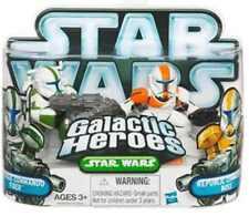 Star Wars Galactic Heroes República Commando's Fijador & Boss Figura De Acción