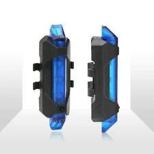 """LED Rechargeable USB Bicycle Lights Blue Color """"Cycle Light"""" Luz De La Bicicleta"""